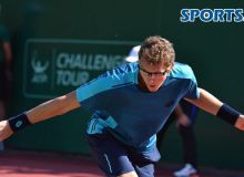 Uzbekistan's Denis Istomin earns a quarterfinal spot at the Challenger Winnetka in USA