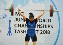 Kumushxon Fayzullaeva dast ko'tarish mashqida bronza medalini qo'lga kiritdi