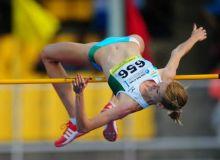 Uzbekistan's Svetlana Radzivil claims a silver medal in Czech Republic