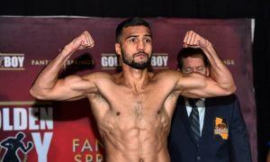 Shakhram Giyasov stuns Mexico's Miguel Zamudio with a first-round TKO.