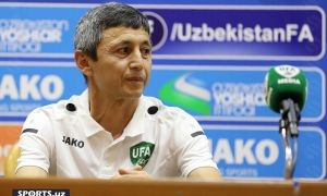 Uzbekistan national futsal team players took part in a press conference before the World Championship (Photo gallery)