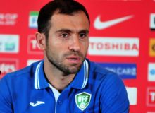 Тимур Кападзе временно встал у руля сборной Узбекистана по футболу