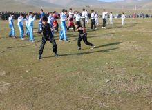 Молодые спортсмены принимают участие в Месячнике патриотизма