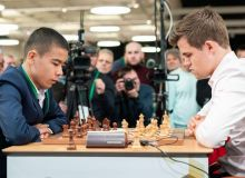 Сенсация. Шестнадцатилетний шахматист Узбекистана победил действующего чемпиона мира Магнуса Карлсена