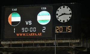 Победа сборной Узбекистана в товарищеском матче.