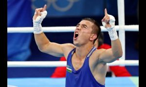 Дусматов начал с победы свою профессиональную карьеру, посмотрите как это было