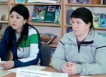 Саида Махмудова в Хорезме провела семинар по настольному теннису