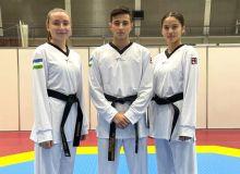Uzbekistan's taekwondo athletes recognise their rivals at Tokyo Olympics