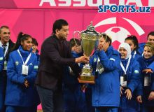 Фотогалерея с церемонии награждения турнира «CAFA Women's Championship 2018»