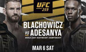 """Шов-шувли """"UFC 259"""" турнирида супер жангчилар октагонга кўтарилади. Жуфтликлар рўйхати билан танишинг!"""