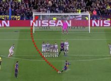 "Мессининг ""Ливерпуль"" дарвозасига урган супер голи УЕФА томонидан мавсумнинг энг чиройли голи деб топилди"