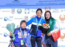 Первые победители чемпионата Азии по параканоэ