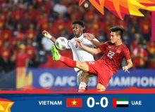 Осиё чемпионати (U23). Амалдаги финалчи - Вьетнам илк турда БАА билан нурсиз дуранг қайд этди