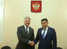 Президент НОК Узбекистана провел встречу с Министром спорта России