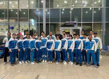 Наши молодые самбисты отбыли в Грецию на чемпионат мира