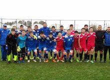 Сборная Узбекистана, состоящая из воспитанников детских домов, одержала победу в контрольном матче