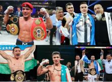 According to Sports.uz, the Top 10 Uzbek professional boxers in 2020