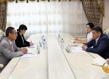Представители посольства Японии посетили НОК