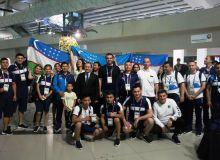 Азиатские игры-2018: Спортивная делегация Узбекистана прибыла в Индонезию