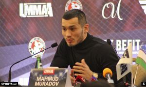 When will Mahmud Murodov return to the octagon? This was reported by the athlete himself.