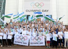 В Узбекистане широко отмечен «Международный Олимпийский день»