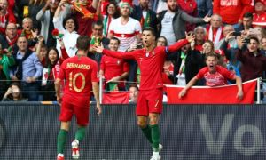 Роналдунинг супер голи Португалияга ғалаба келтирди (видео)