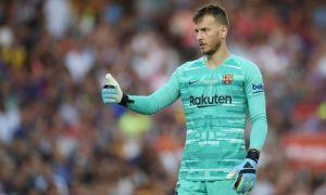 """Барселона"" Испания Суперкубогида захира дарвозабонидан фойдаланади"