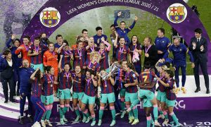 """""""Барселона"""" аёллар жамоаси Чемпионлар лигасида ғалаба қозонди!"""