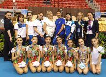 Badiiy gimnastikachilarimiz Osiyo chempionatini ajoyib natija bilan yakunlashdi