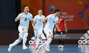 Впервые в истории сборная Узбекистана по футзалу вышла в плей-офф чемпионата мира (Видео)