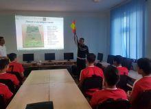 В региональной детско-юношеской футбольной академии Бухарской области прошёл семинар по судейству