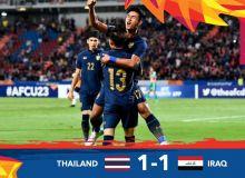 Таиланд Ироқ билан дуранг ўйнади ва плей-оффга чиқди (видео)
