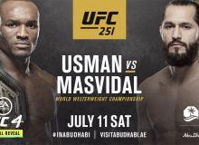 """""""UFC 251"""" turnirining ko'z urushtirish marosimi bo'lib o'tdi (Video)"""