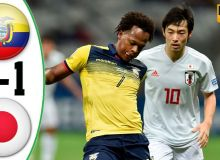 Эквадор – Япония 1:1 (видео)