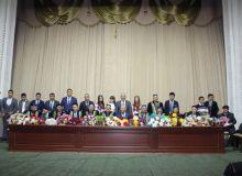 В Узбекском Государственном институте физической культуры и спорта прошла встреча с молодыми спортсменами
