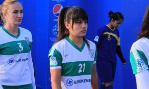 Аёллар футболи: Ўзбекистон кубоги ярим финал дастлабки учрашувлари бўлиб ўтди