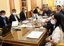 Президент АФУ Абдусалом Азизов провел встречу