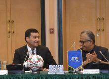Президент АФК поблагодарил Умида Ахматджанова за проведение заседания исполнительного комитета в Ташкенте