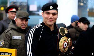 Бектемир Меликузиев отправил в нокаут своего соперника