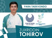 Зуҳриддин Тоҳиров бронза медали учун курашдан чиқди