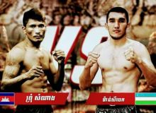 Uzbekistan's Mansurbek Tolipov to face Cambodian Sinja at the MAS Fight Muay Thai Tournament