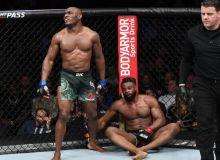 UFC 235 турнирида Жон Жонс чемпион, Усмон Вудлини ер тишлатди ва бошқа натижалар