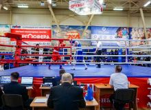 Uzbek boxers taking part in International Youth Boxing Tournament in Russia