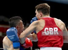 Photo Gallery. McCormack Pat eliminates Uzbek Bobo Usmon Baturov at Men's Welterweight
