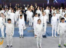 В столице завершился открытый турнир по фехтованию «Kinder league»