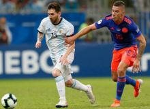 Аргентина – Колумбия 0:2 (видео)