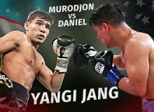 Murodjon Akhmadaliev and Daniel Roman contest at Madison Square Garden next January