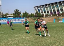 В столице прошёл чемпионат Азии по регби-7