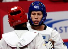 Dmitry Shokin to face South Korean In Kyo-don at the World Taekwondo Grand Slam Champions Series quarterfinals