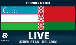 Товарищеский матч: Национальная сборная Узбекистана с минимальным счётом уступила Беларуси
